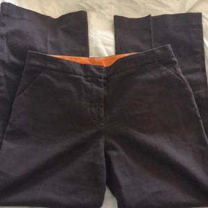 Tory Burch Sz 12 Brown Career Pants